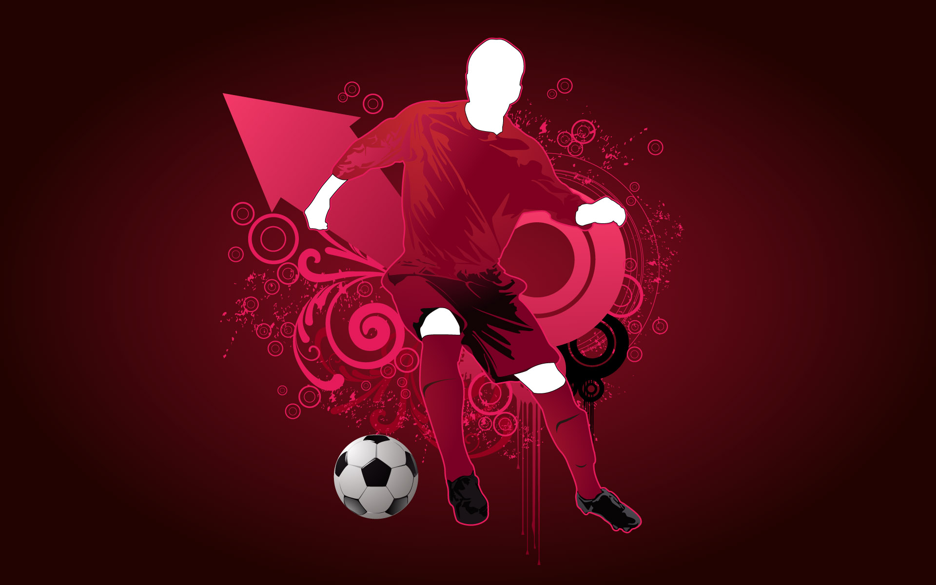 Football Vector HD