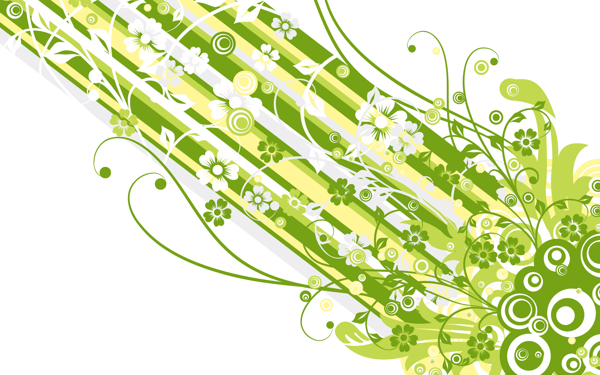 Green Vector Design 364.1 Kb