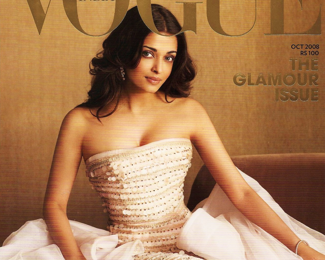 Aishwarya Rai Vougue Magazine Cover