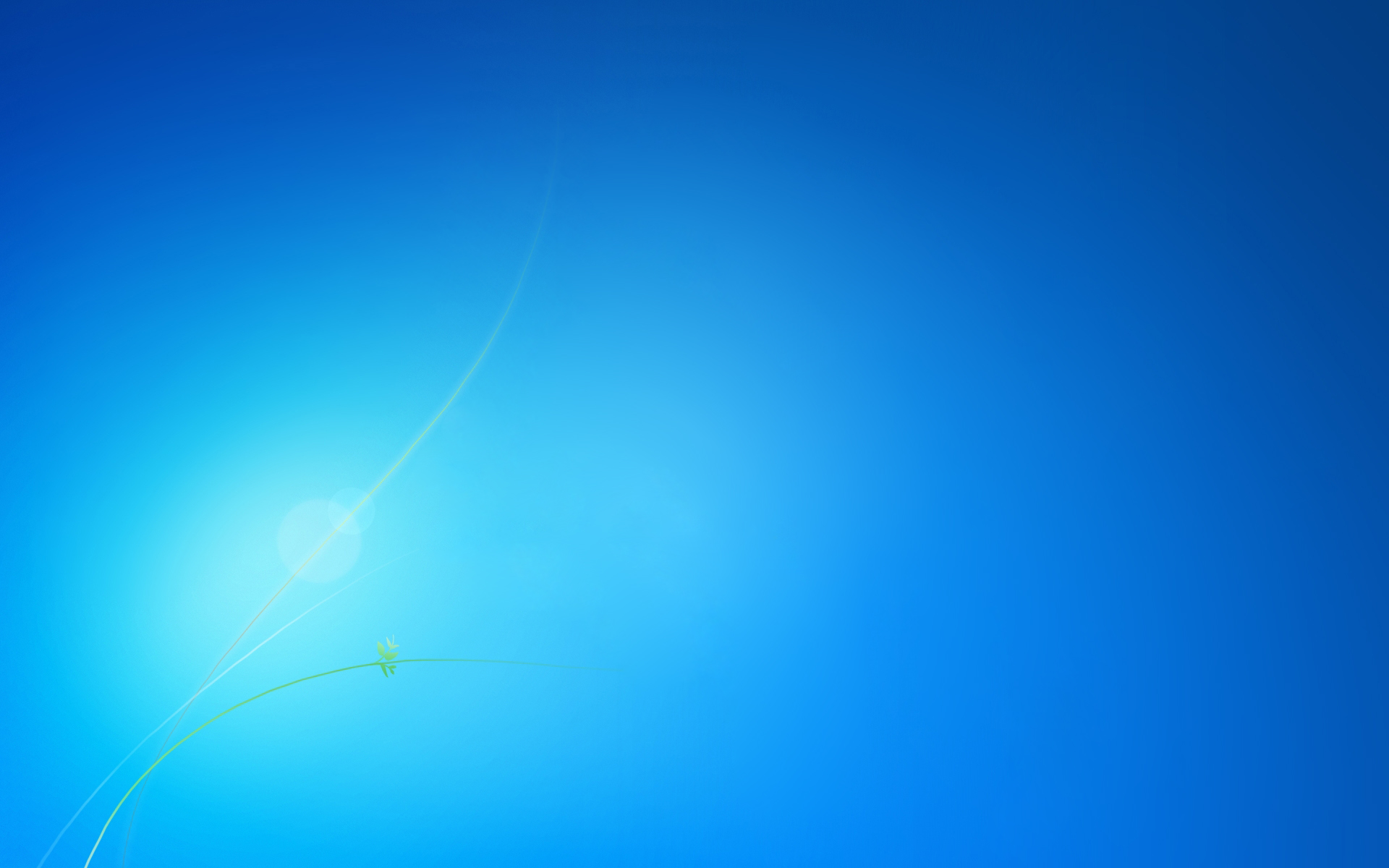 Windows 7 Blue