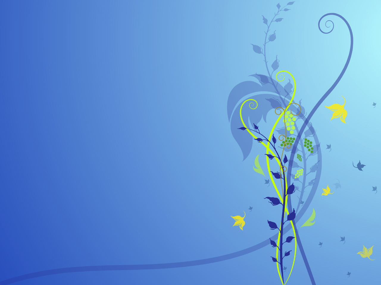 Blue Flower Abstract 276.32 Kb