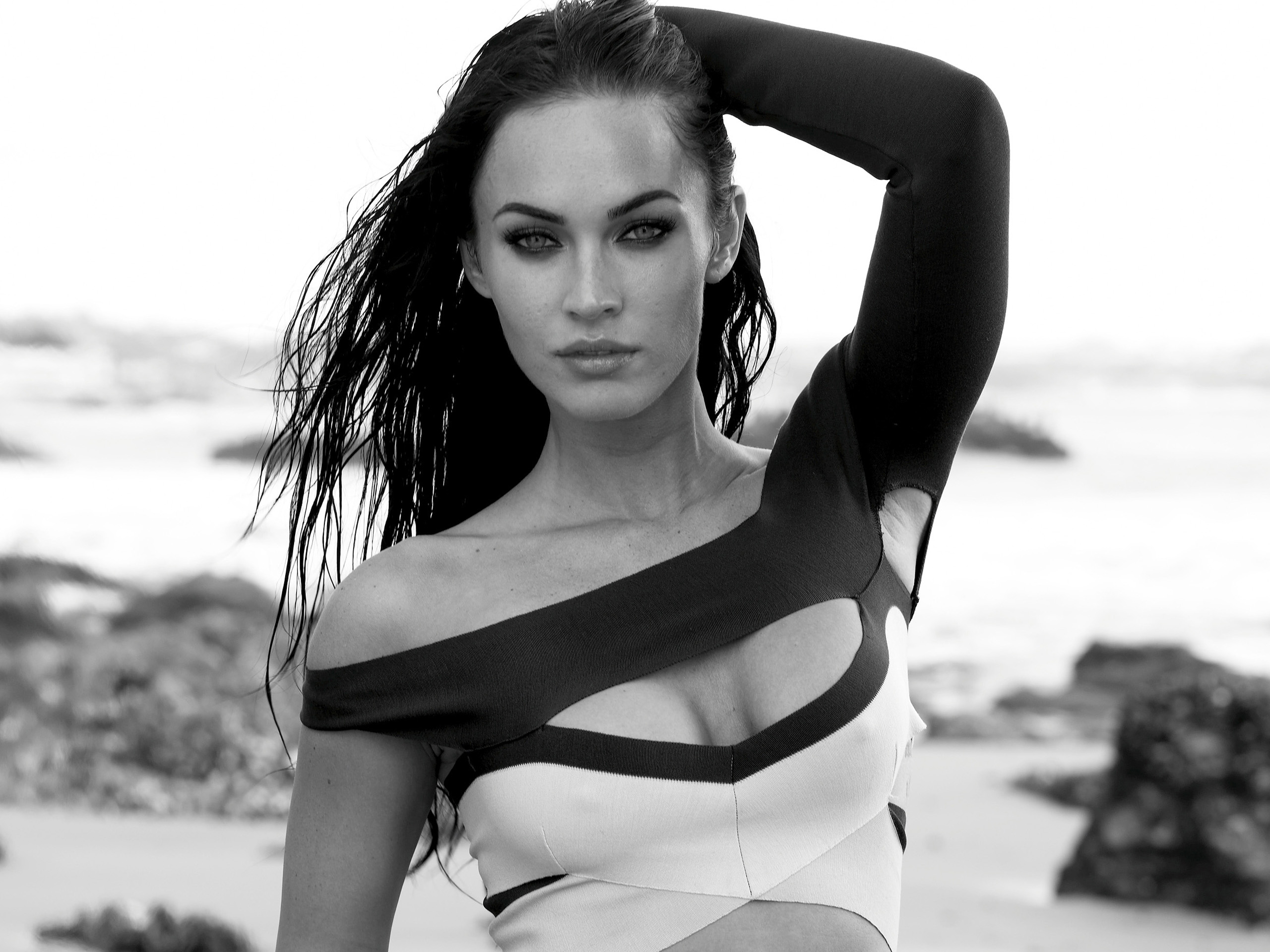 Megan Fox Black & White