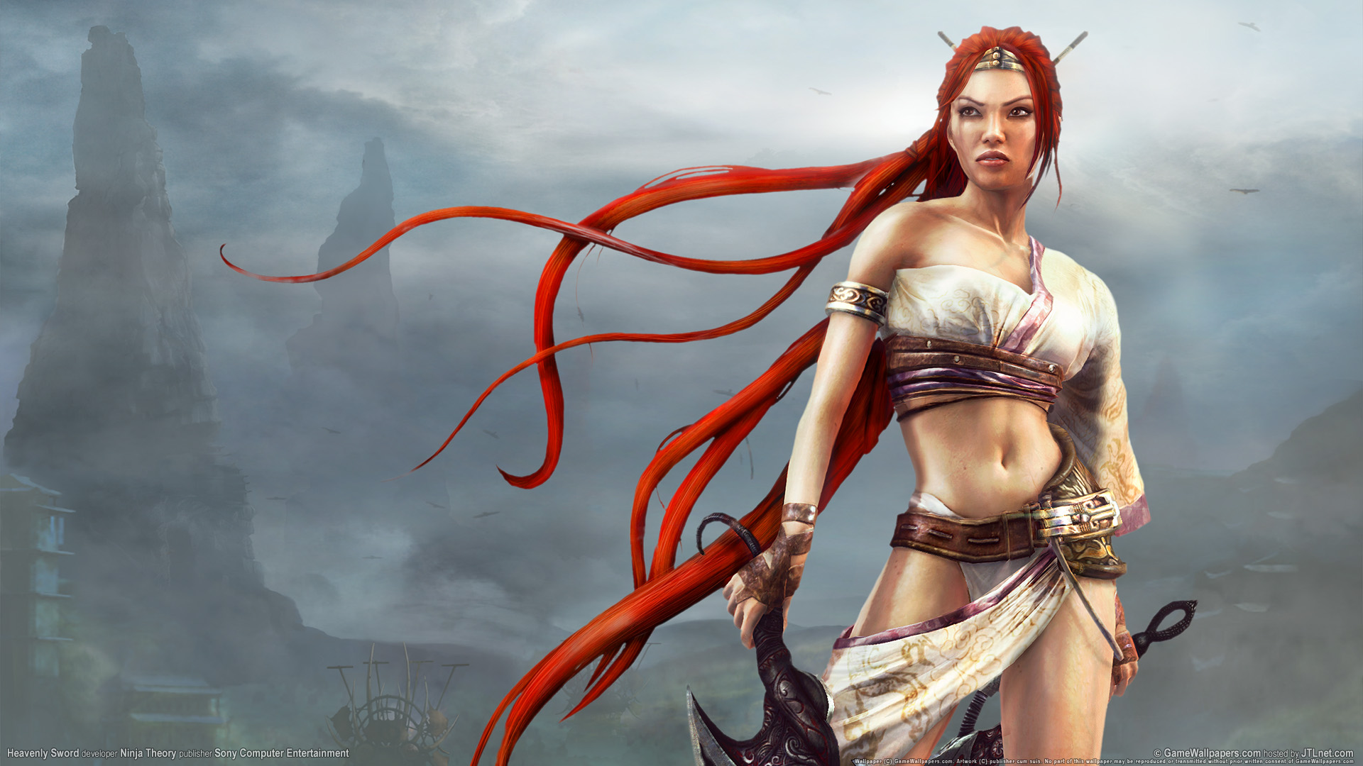 Heavenly Sword Game 633.44 Kb