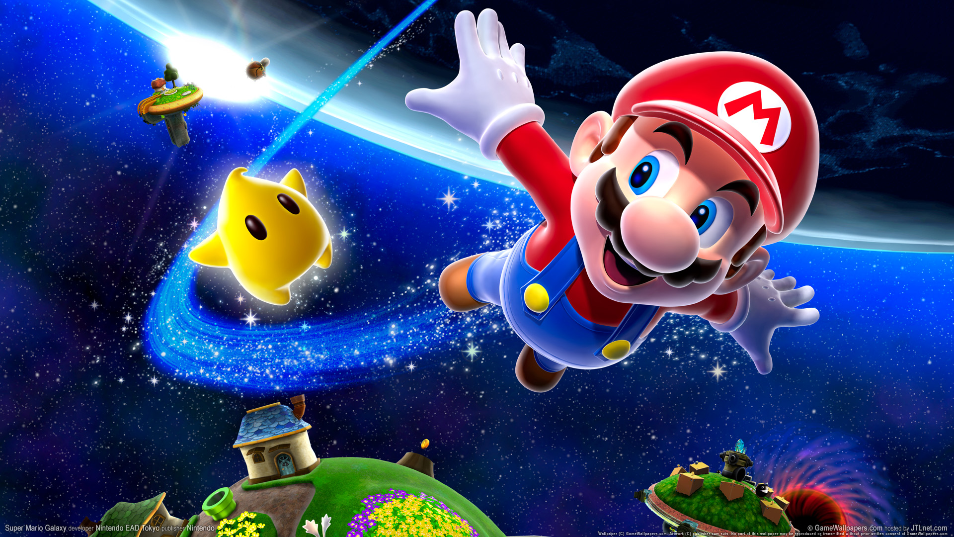 Super Mario Galaxy 453.71 Kb