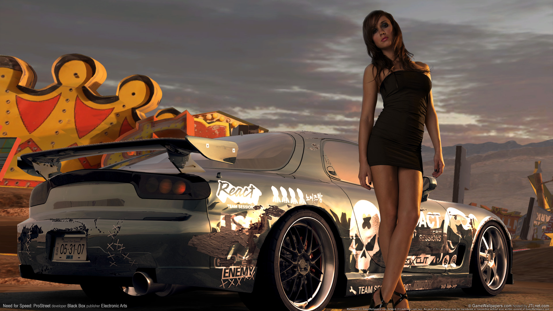 Need for speed prostreet Girls 6 825.11 Kb