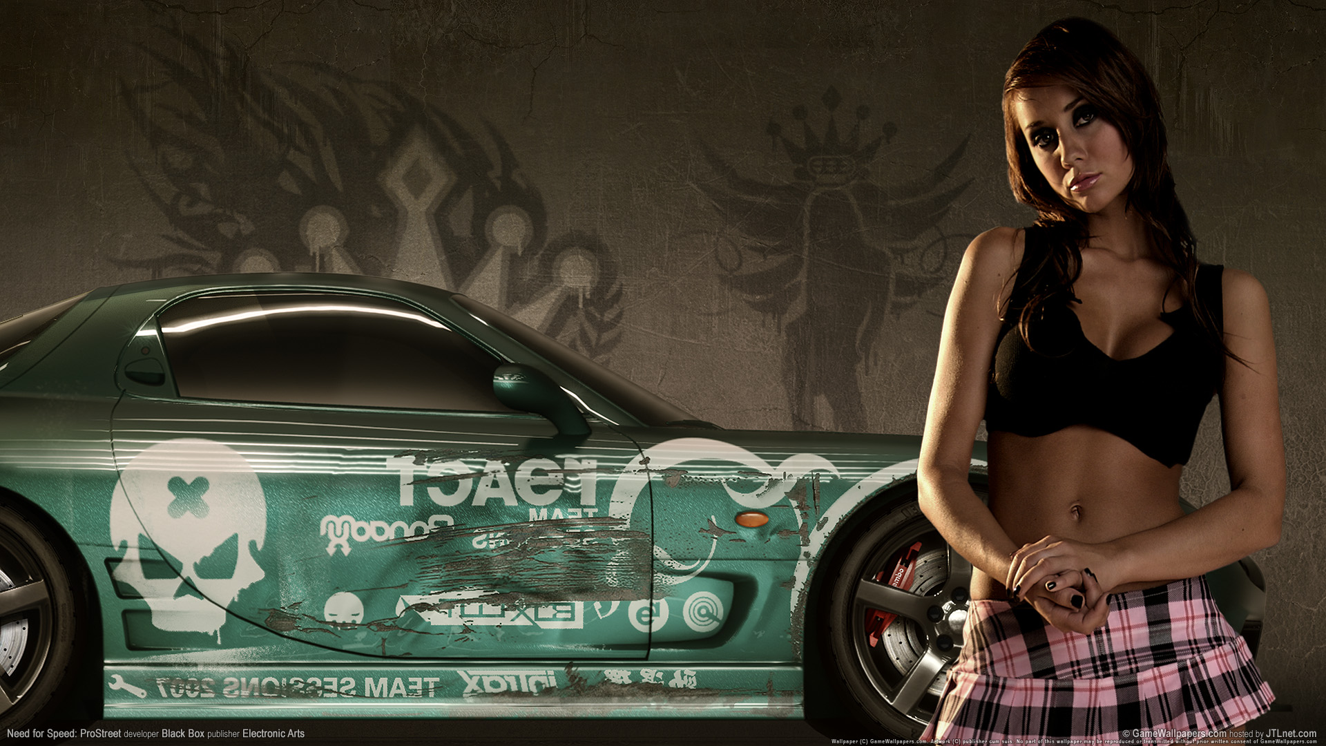 Need for speed prostreet Girls 2 825.11 Kb