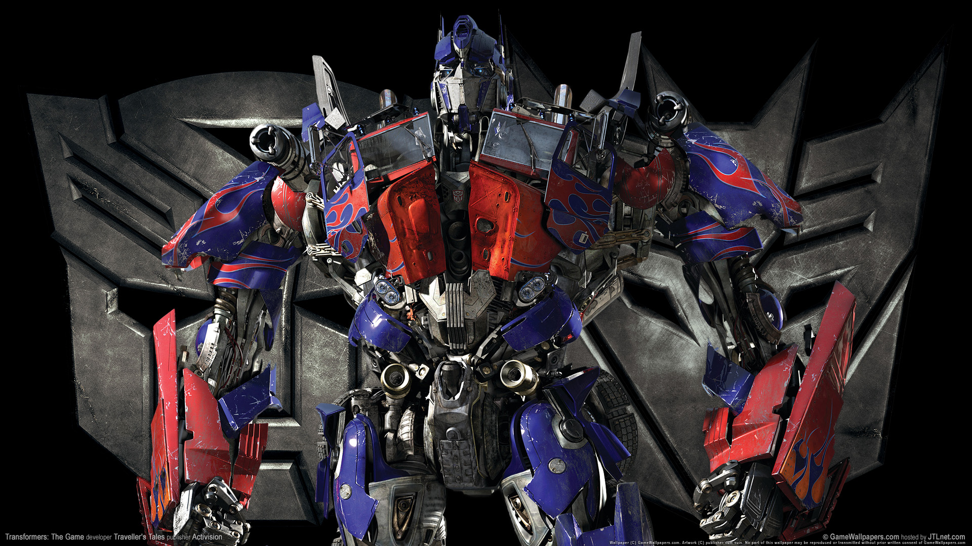 Transformers Optimus Prime Game