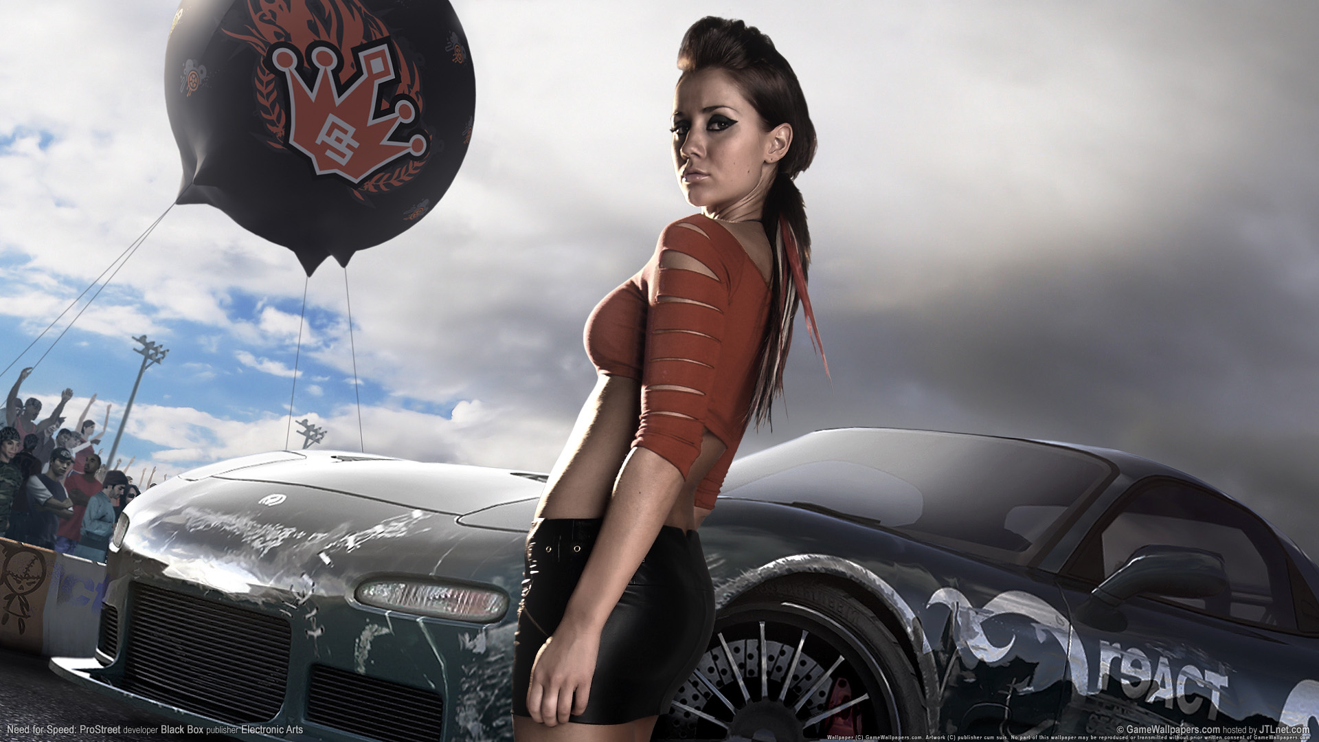 Need for speed prostreet Girls 3 825.11 Kb