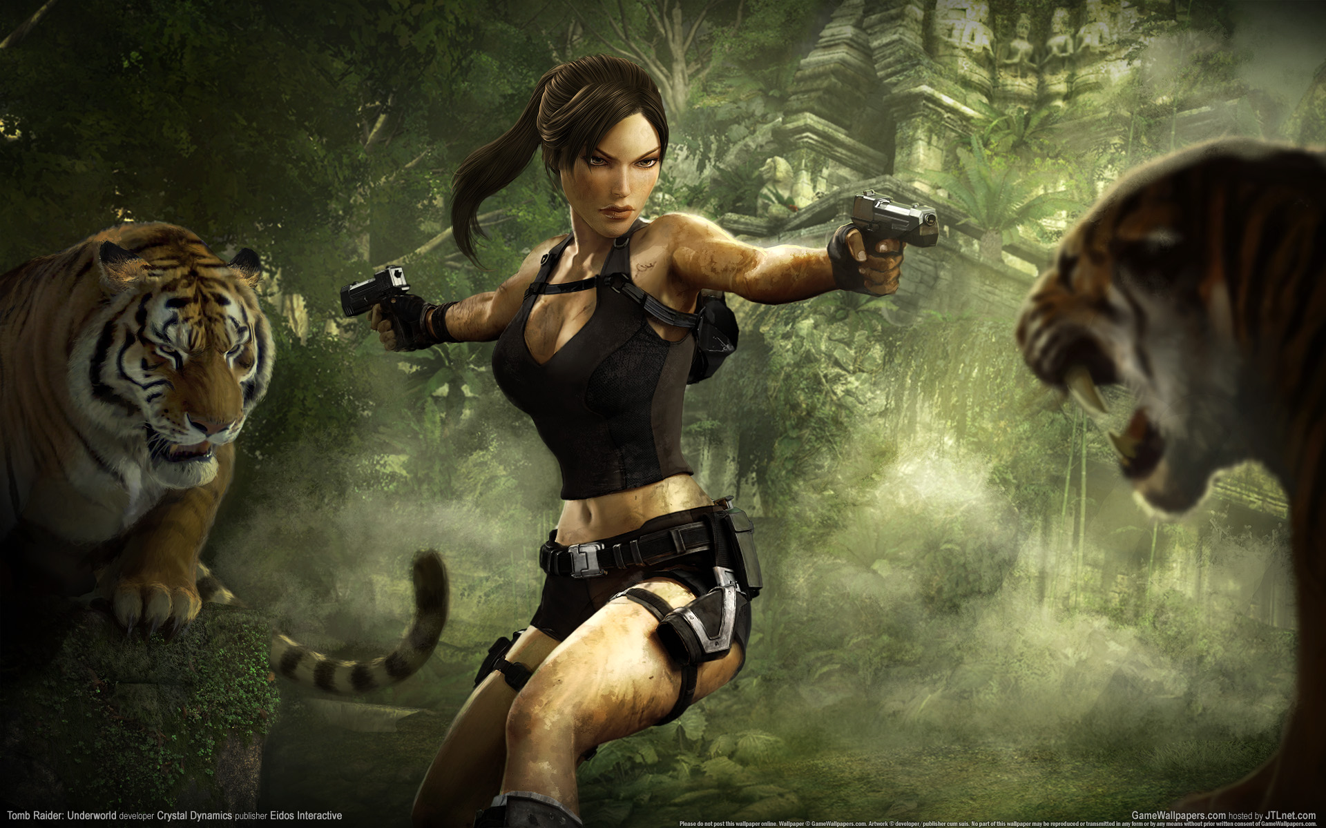 Tomb Raider Underworld Game Widescreen 837.99 Kb