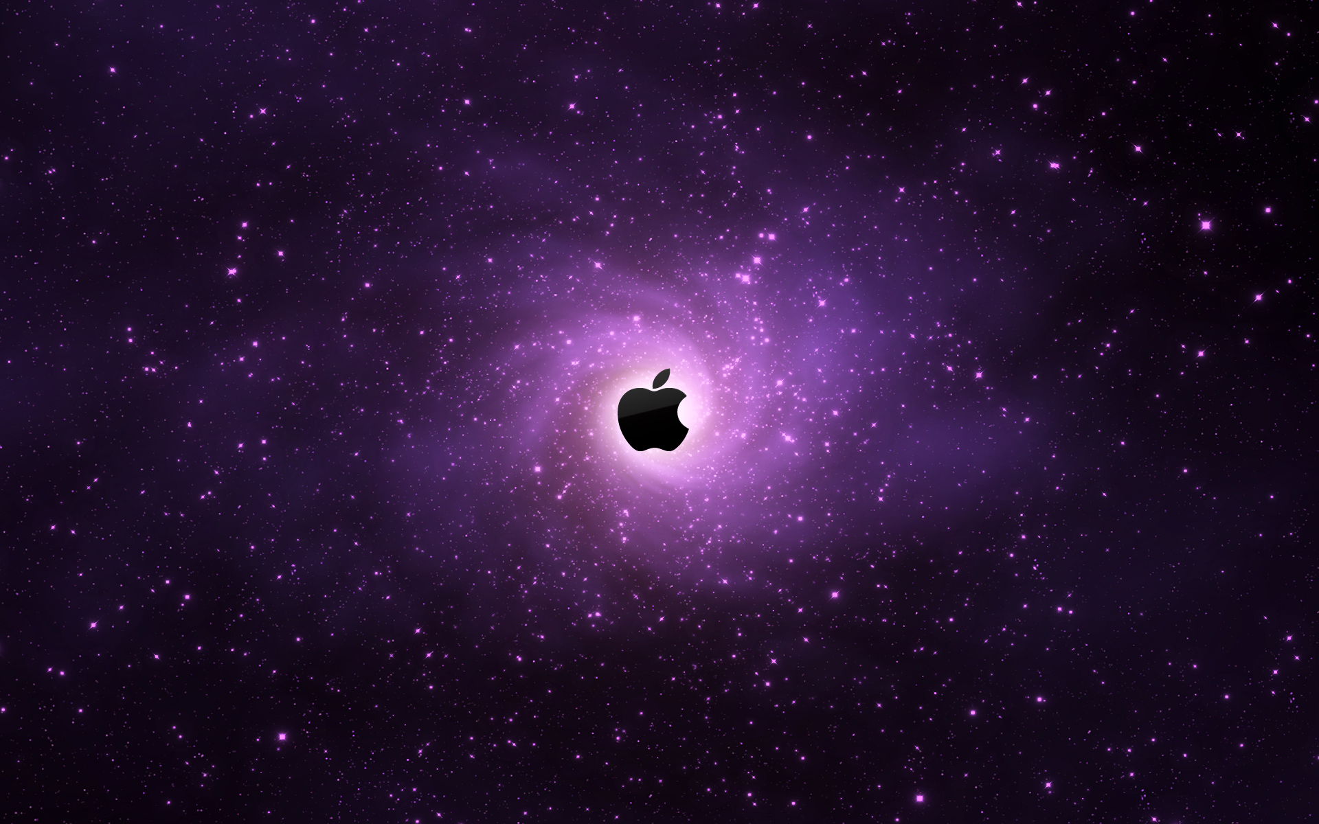 Apple Logo Dark