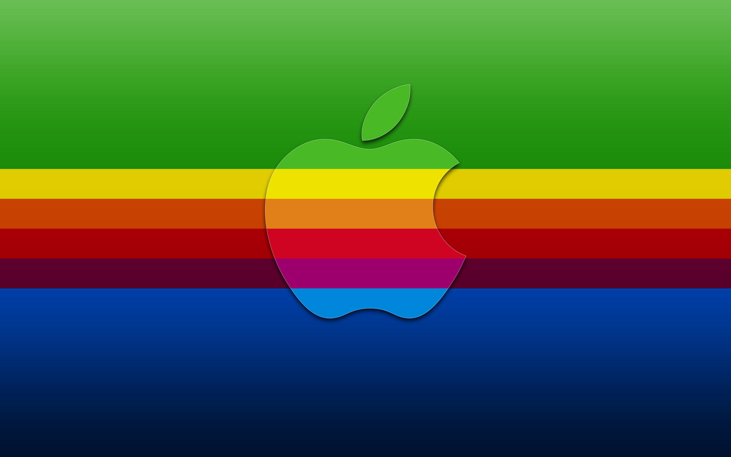 Apple in Colors 102.82 Kb