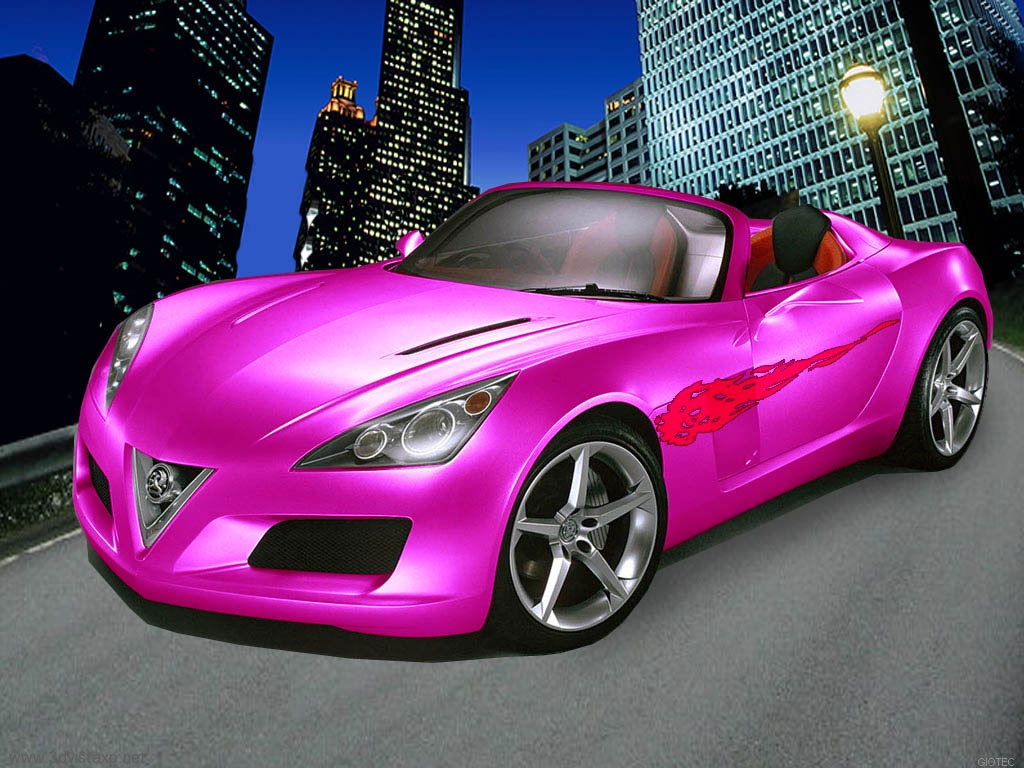 Tuned Concept Pink Car