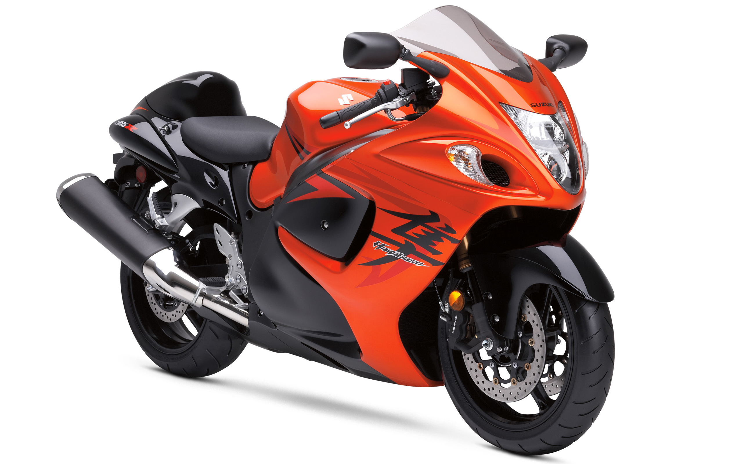 Suzuki Hayabusa Orange Bike 553.05 Kb