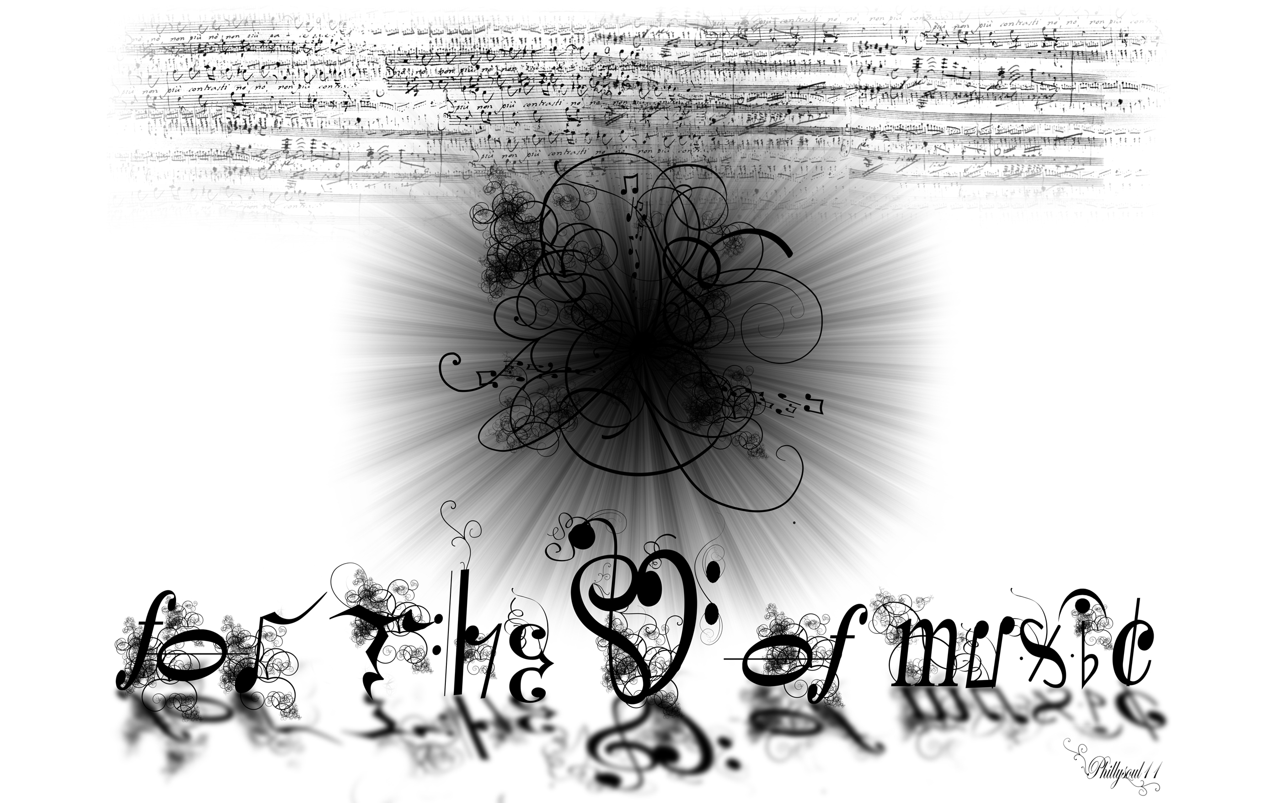 For The Love of Music 288.33 Kb