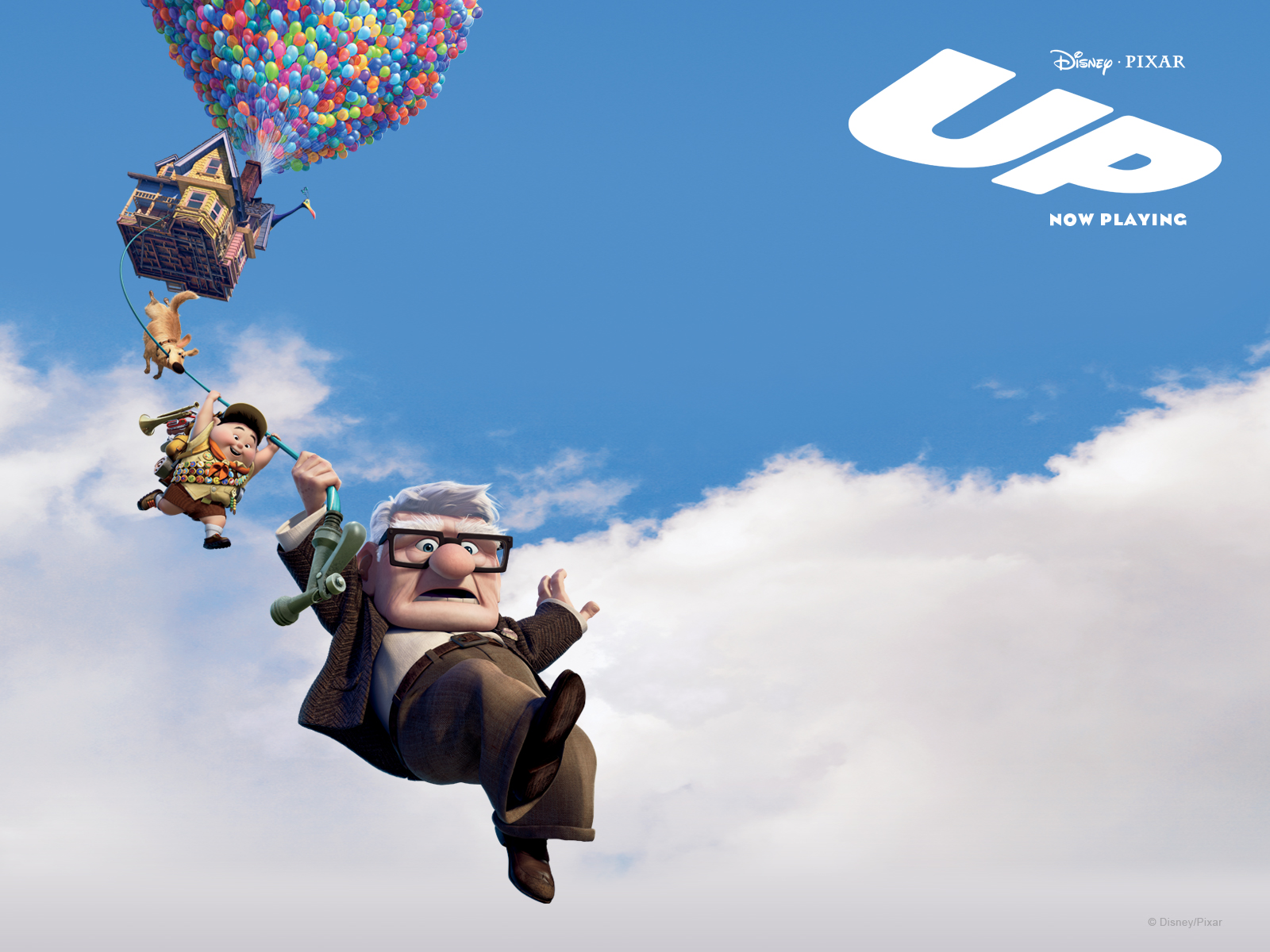 Pixar's UP (2009) Movie Official