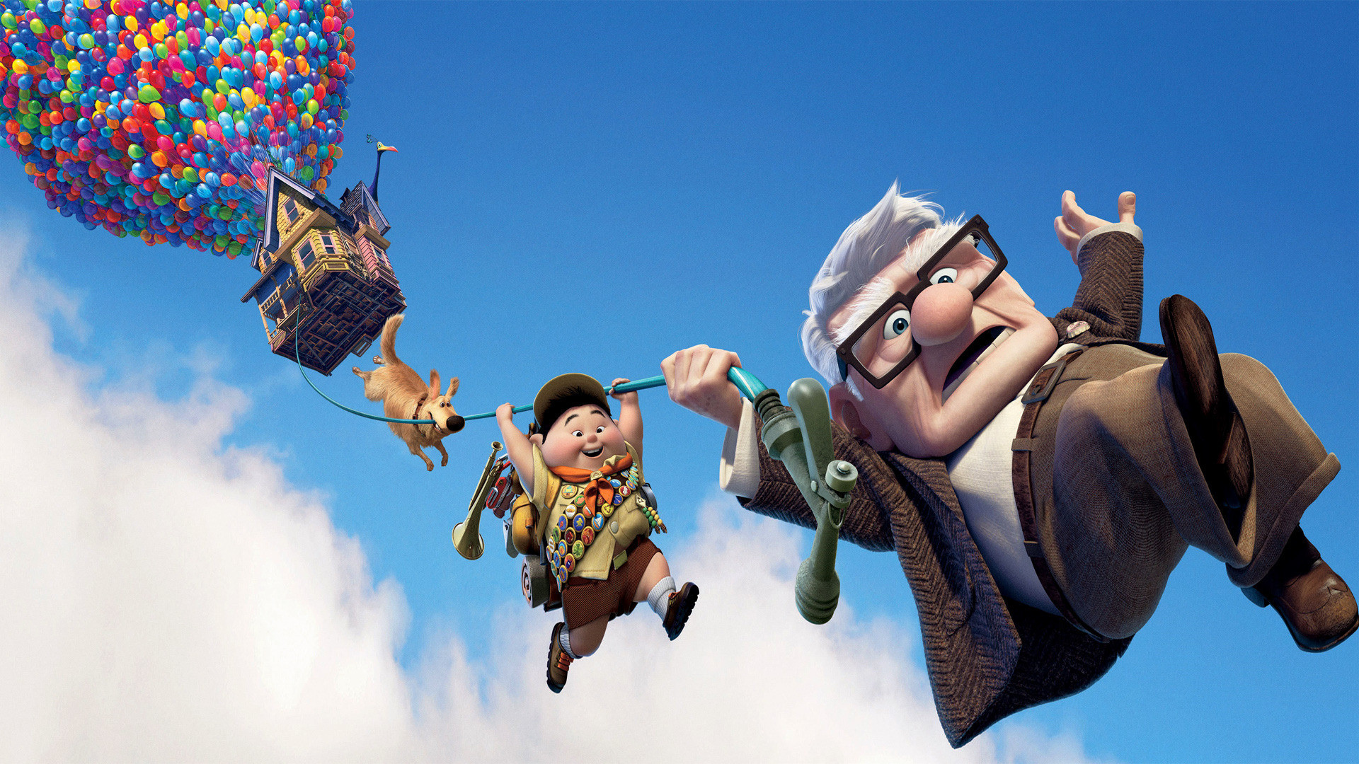Pixar's UP Dual Monitor HD 1388.73 Kb