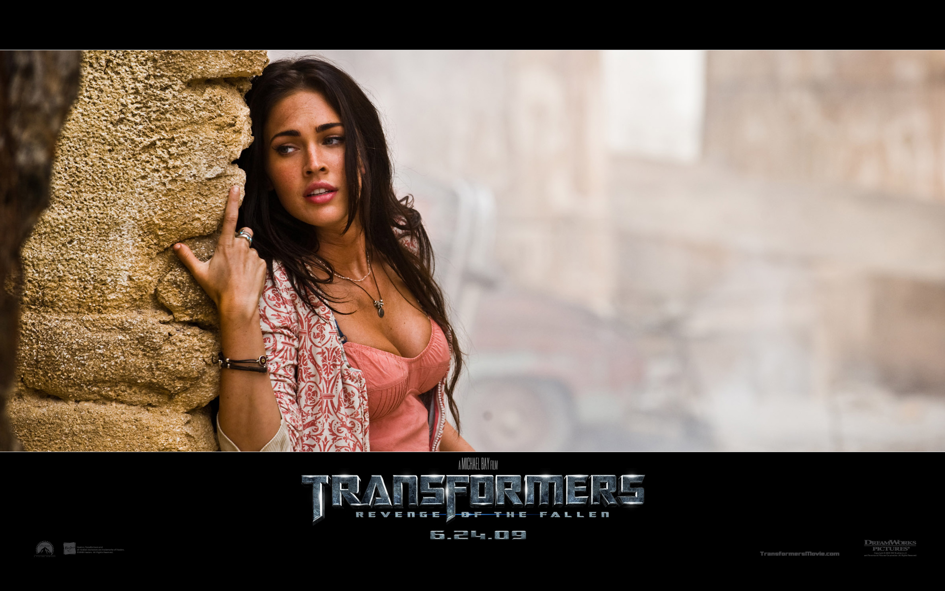 Megan Fox in Transformers 2 318.14 Kb