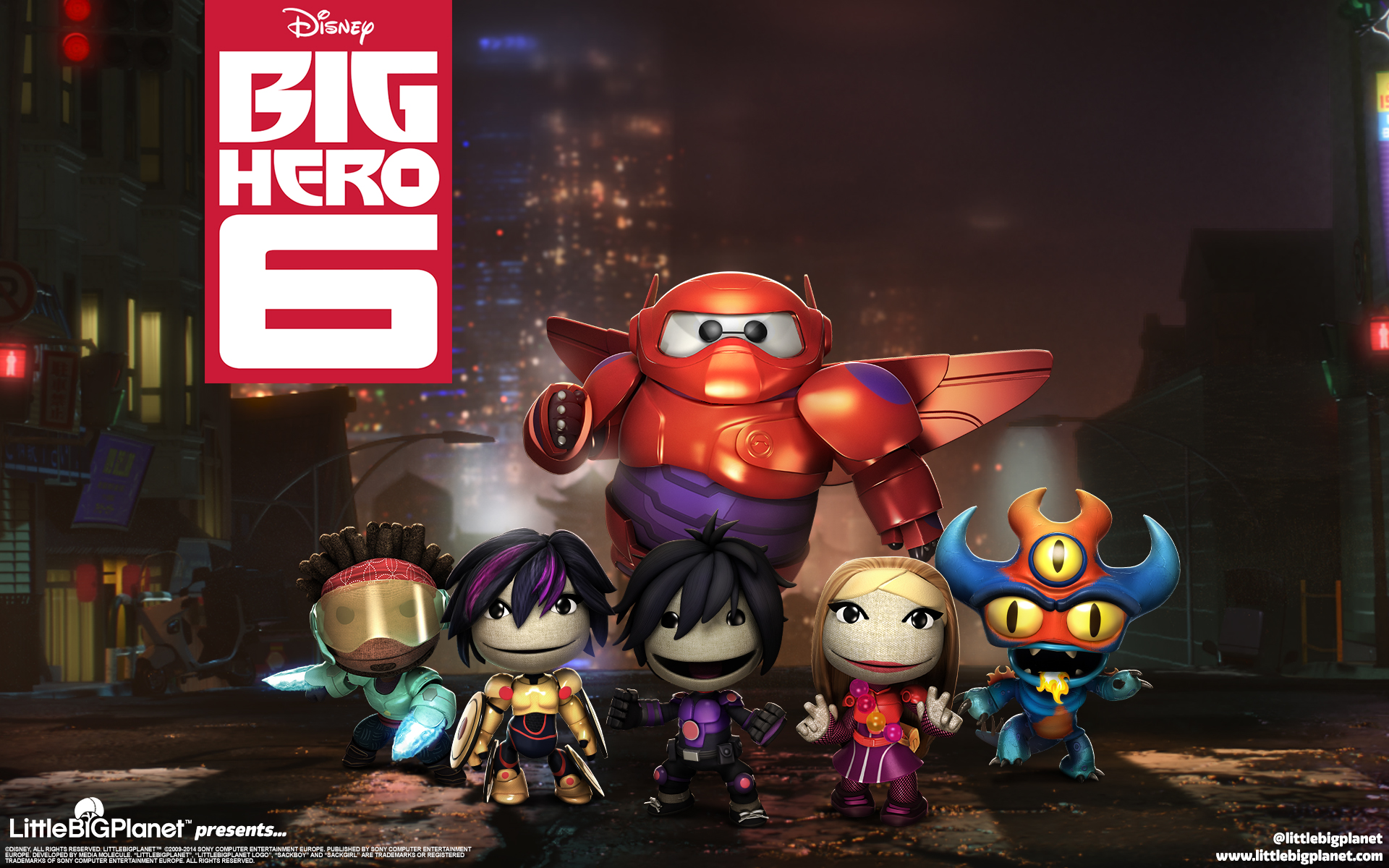 LittleBigPlanet Big Hero 6 3343.19 Kb