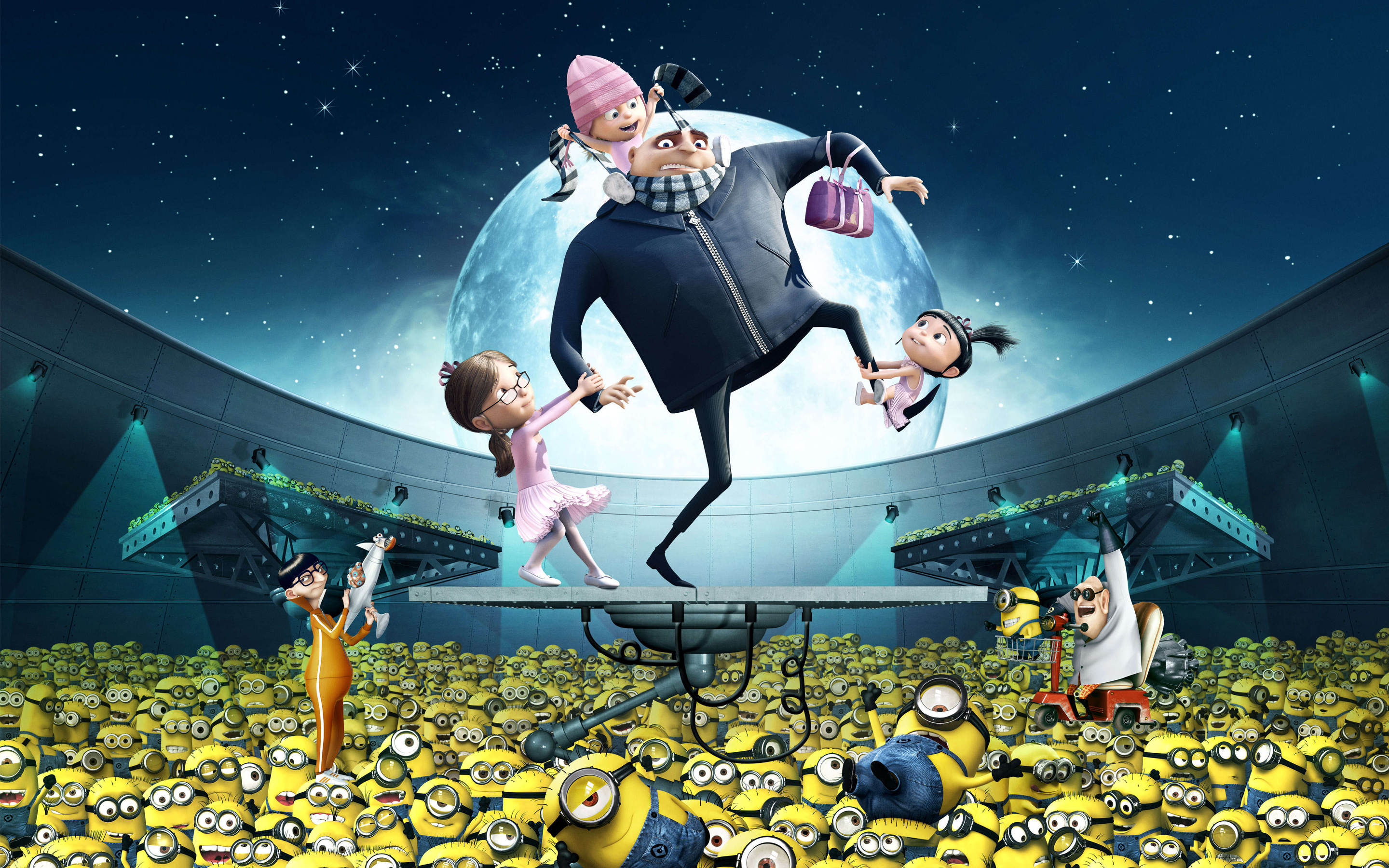 Gru Kids Minions Despicable Me 387.17 Kb