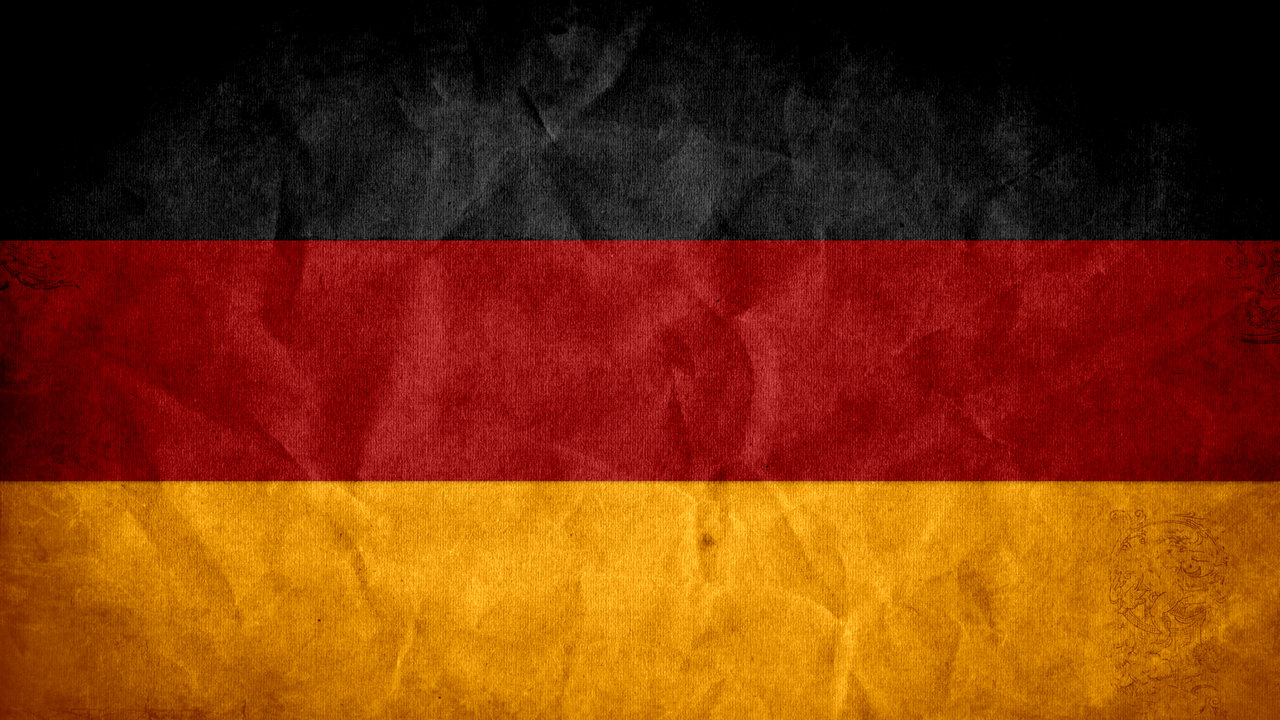 Tricolour Flag of Germany 633.62 Kb
