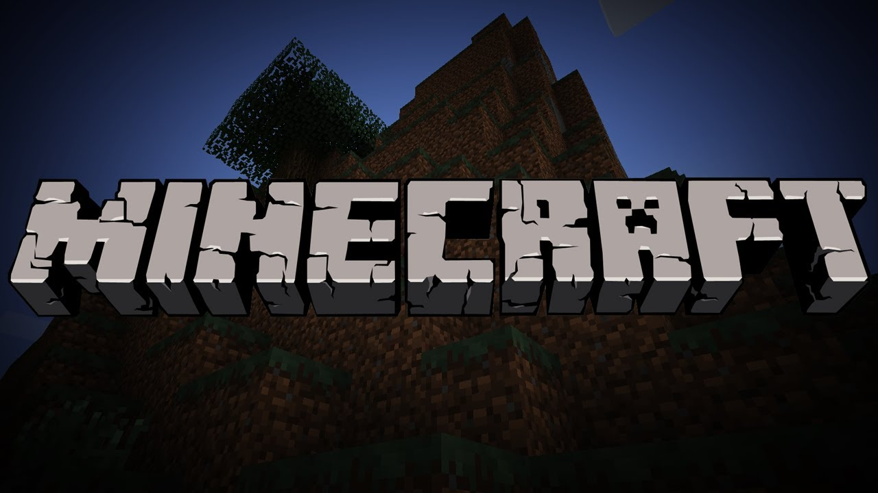 Minecraft Grey Game Logo  384.93 Kb