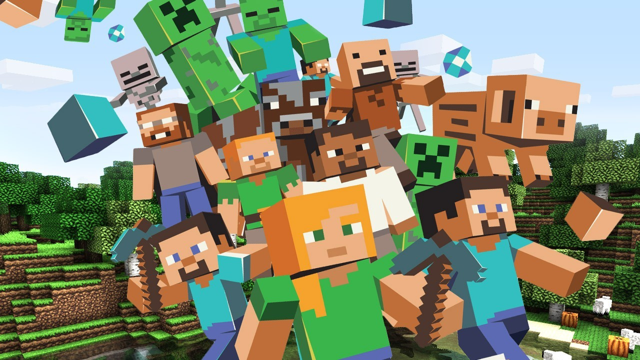 Minecraft Heroes and Characters  384.93 Kb