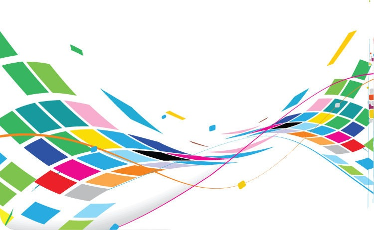 Curved Lines Background Design