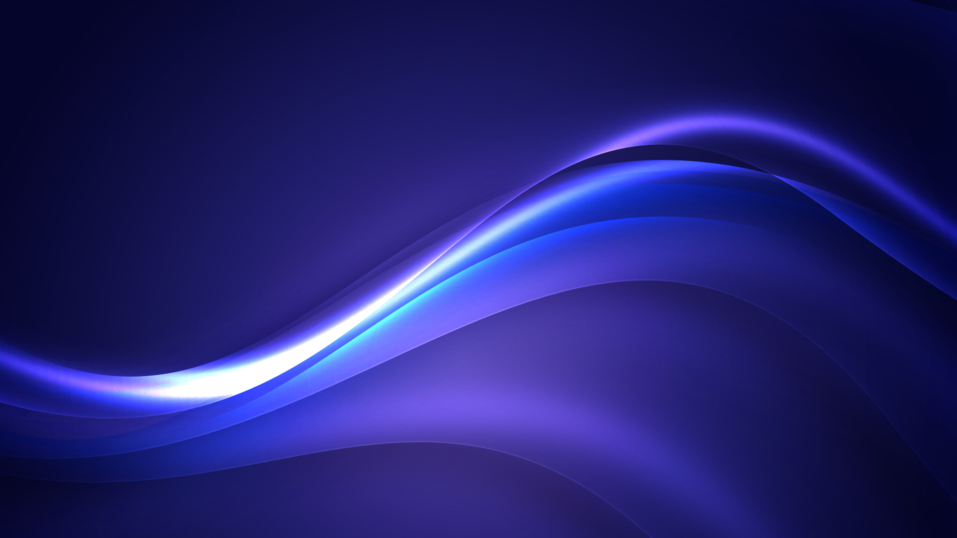 Background Design Blue Curved Lines