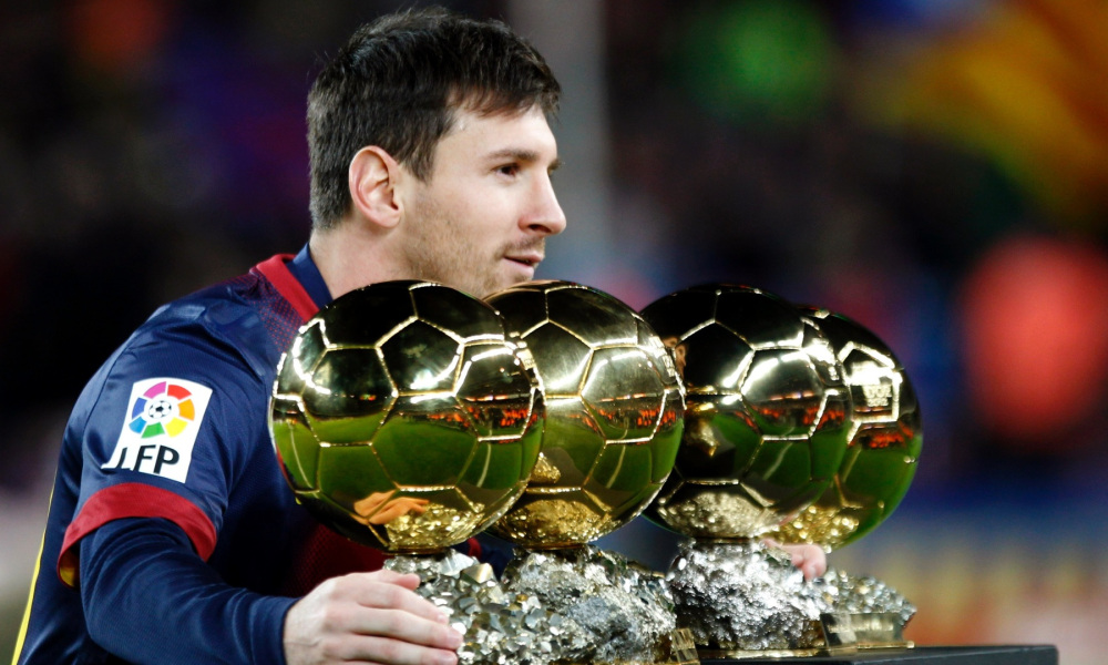 Lionel Messi Wins Golden Balls 392.86 Kb