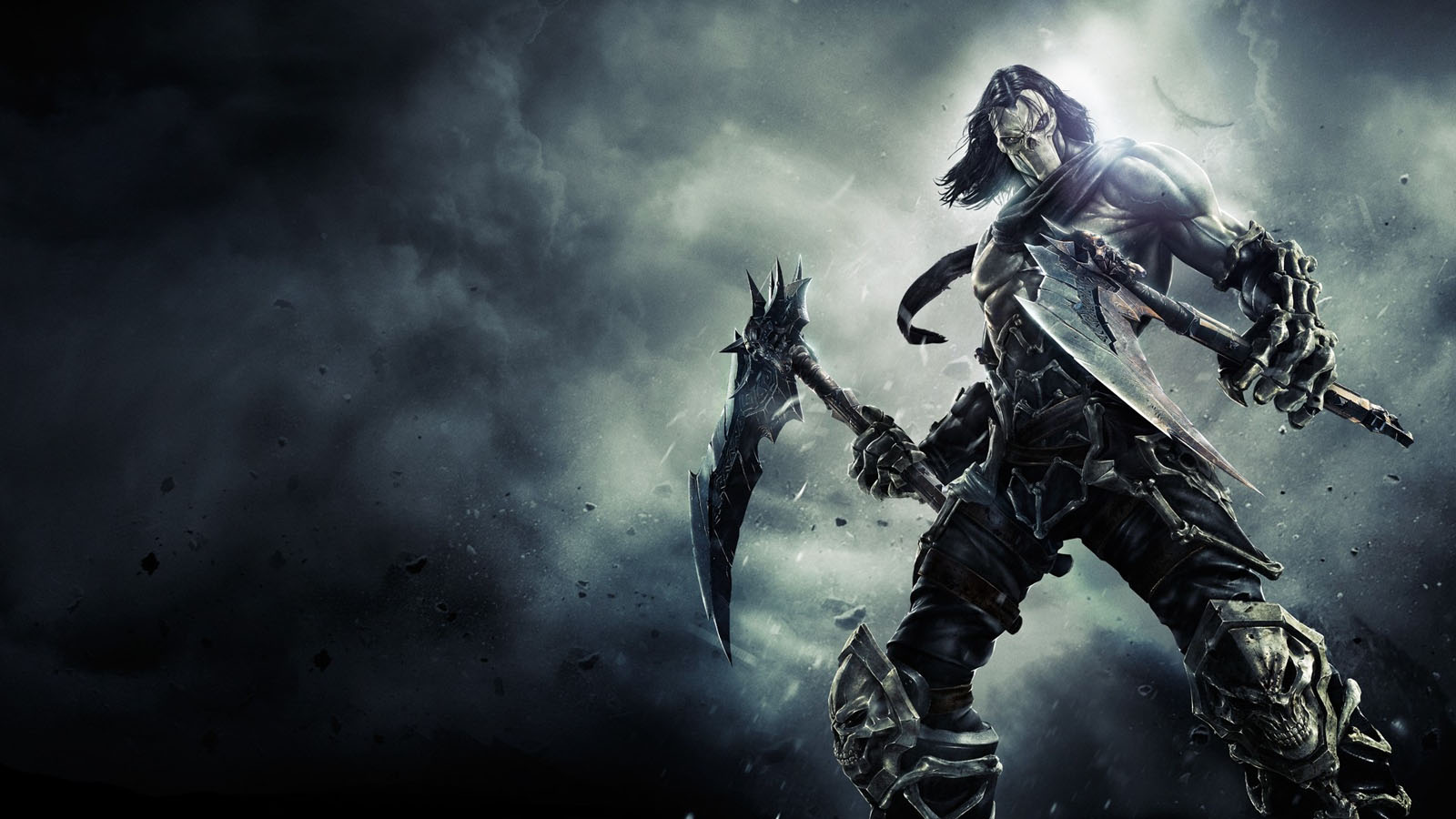 Warrior With Weapons Wallpaper 3D