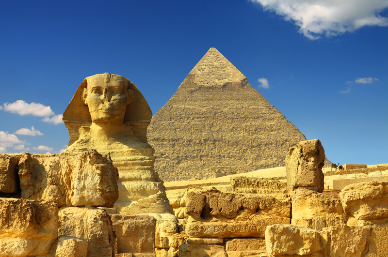 Famous Guardian of Pyramids in Egypt 1698.98 Kb