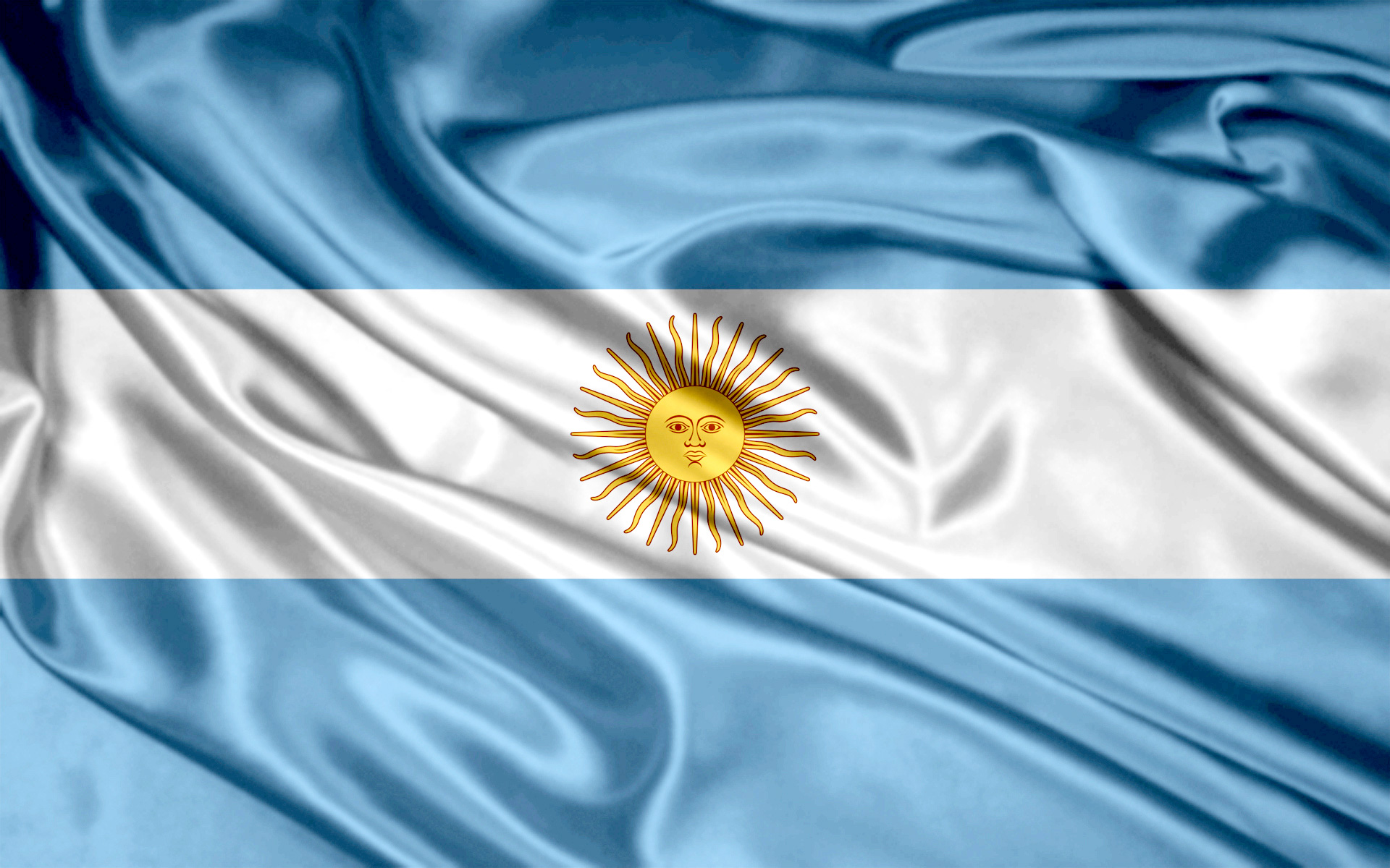 Argentina Silk Flag 1742.57 Kb