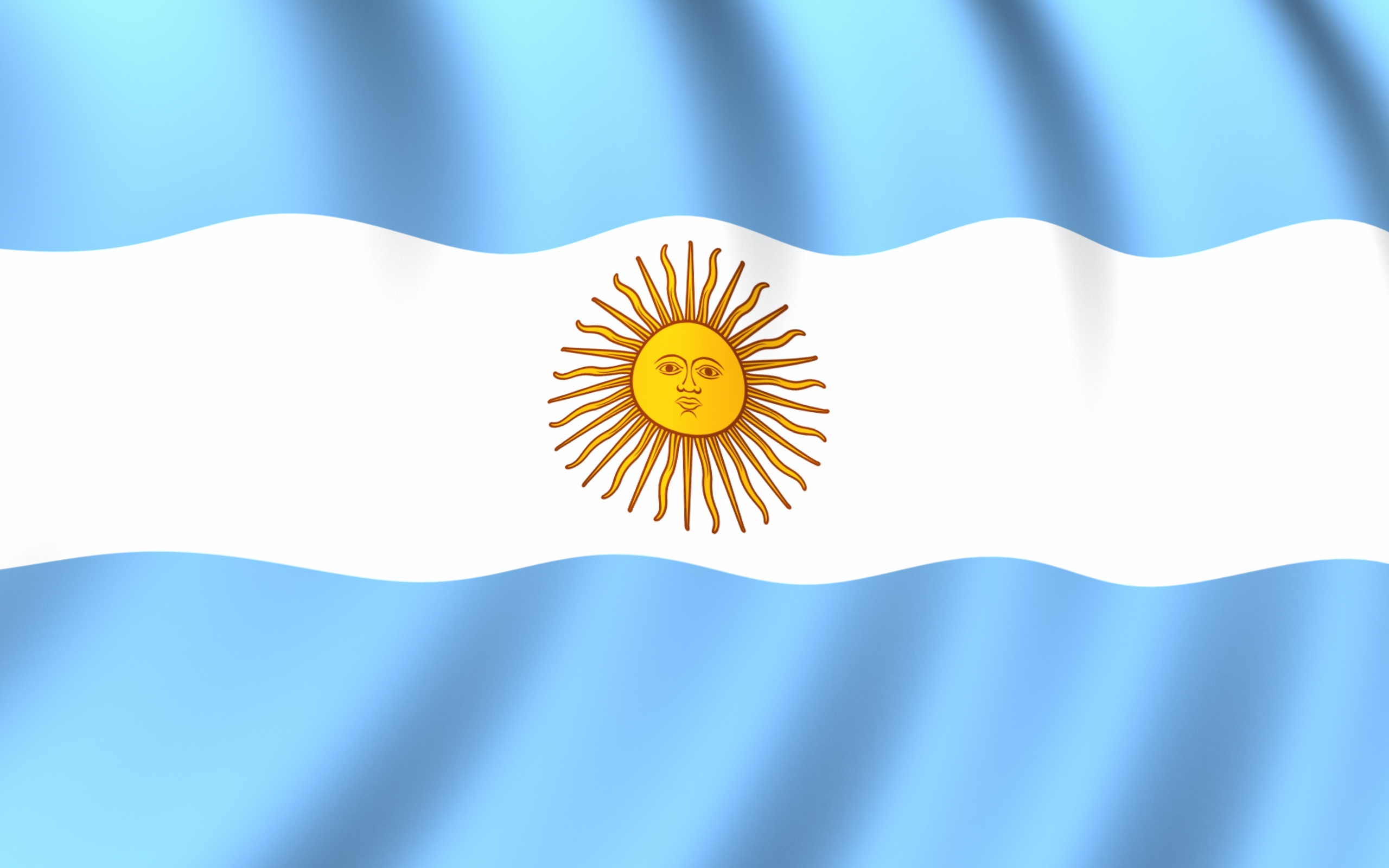 Argentina Flag with Sun Symbol  359.56 Kb