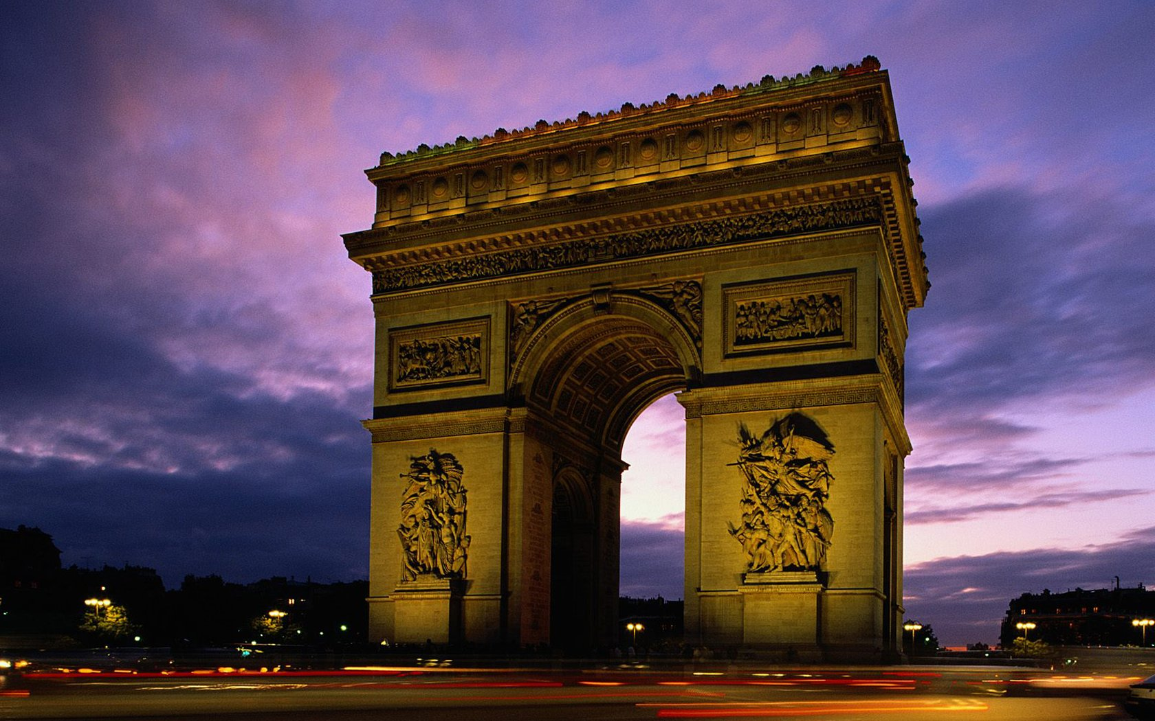 France Arc de Triomphe 346.84 Kb