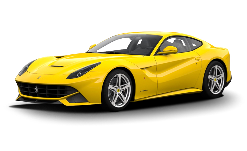 Ferrari Sport Yellow Car 260.45 Kb