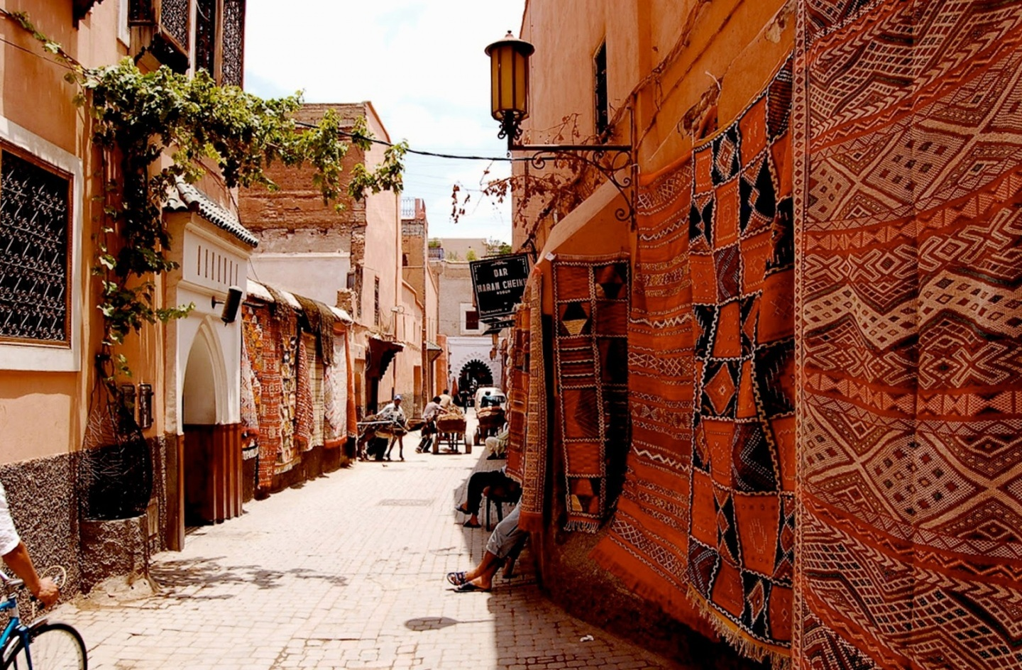 Narrow Streets in Morocco Style