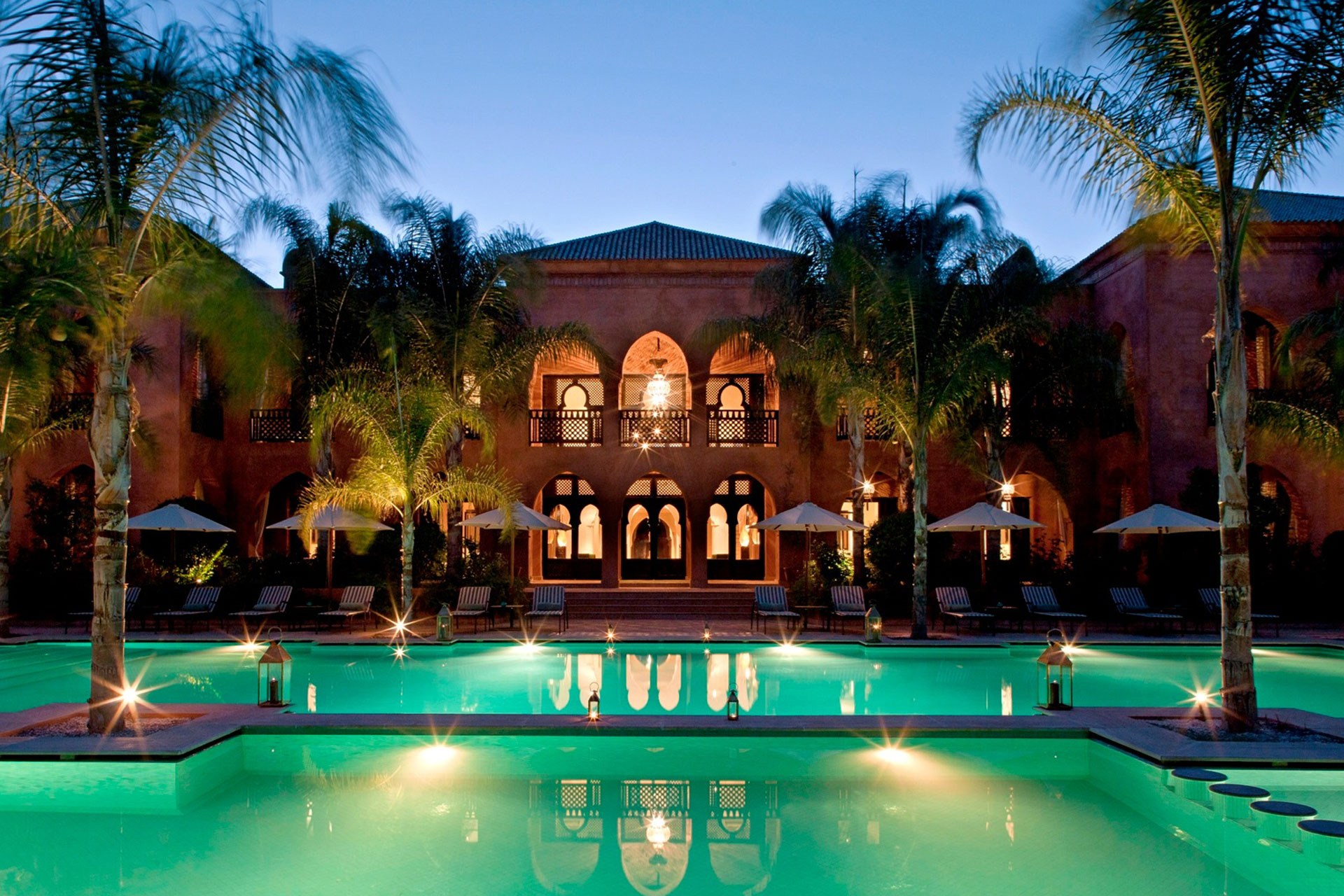 Swimming Pool in Morocco Hotel