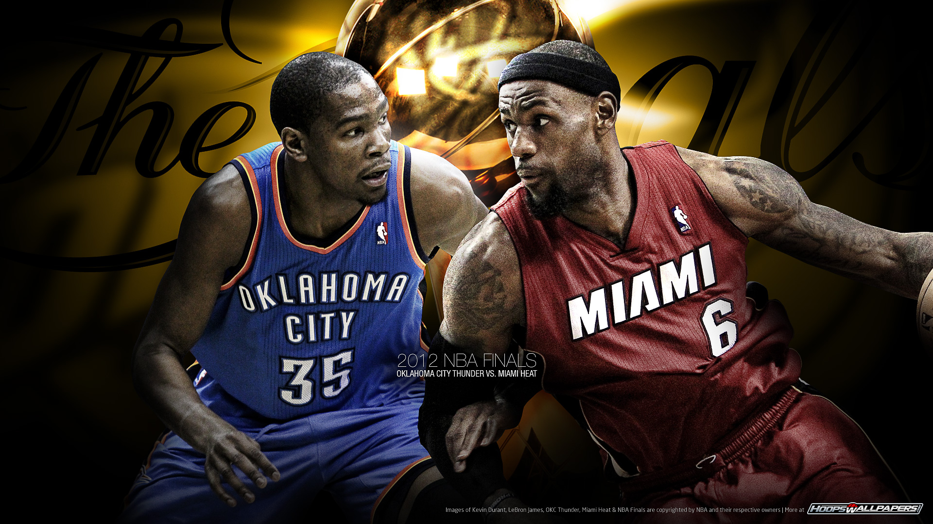 NBA Wallpaper Miami vs Oklahoma City