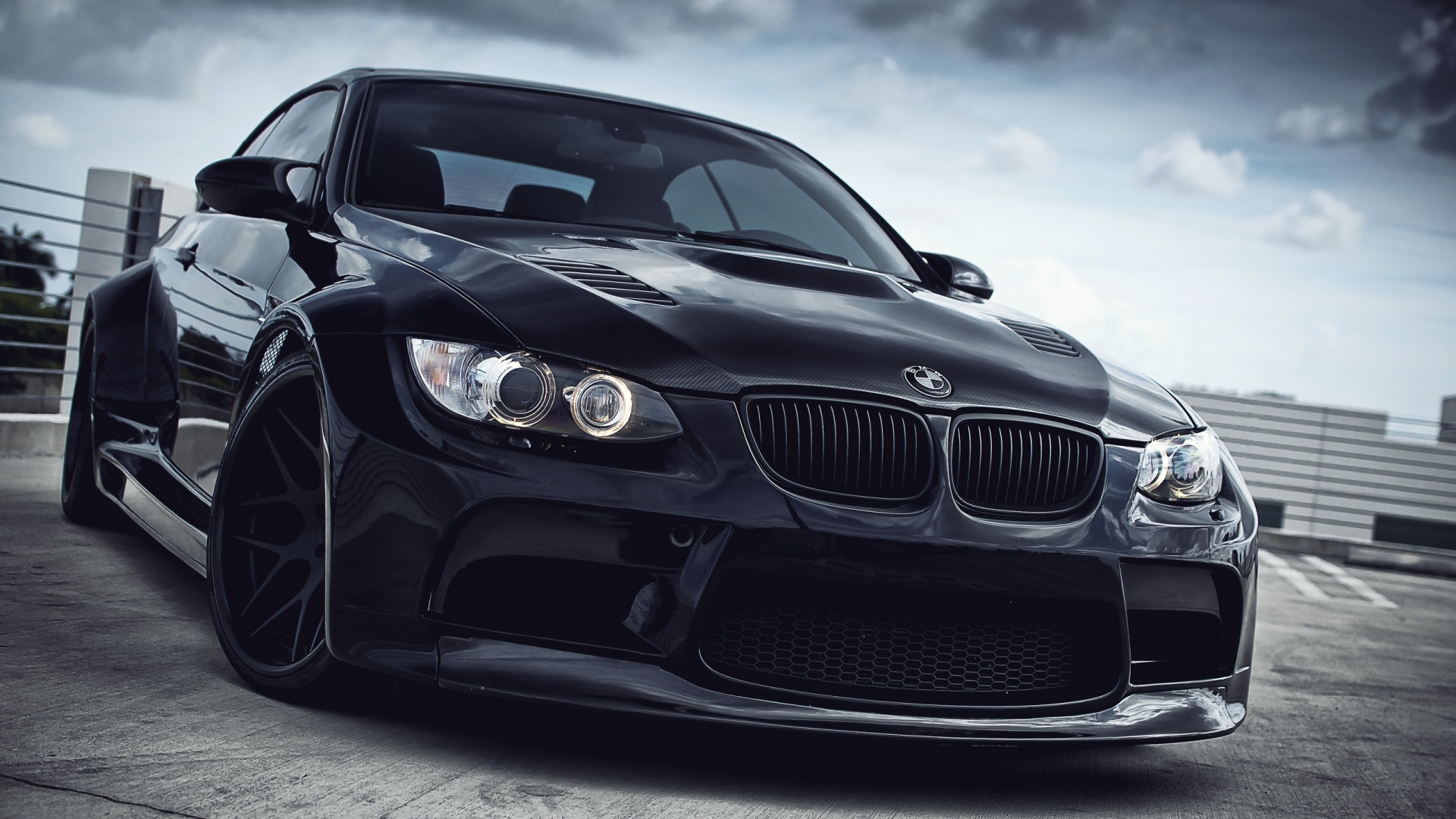 Black BMW Front Look