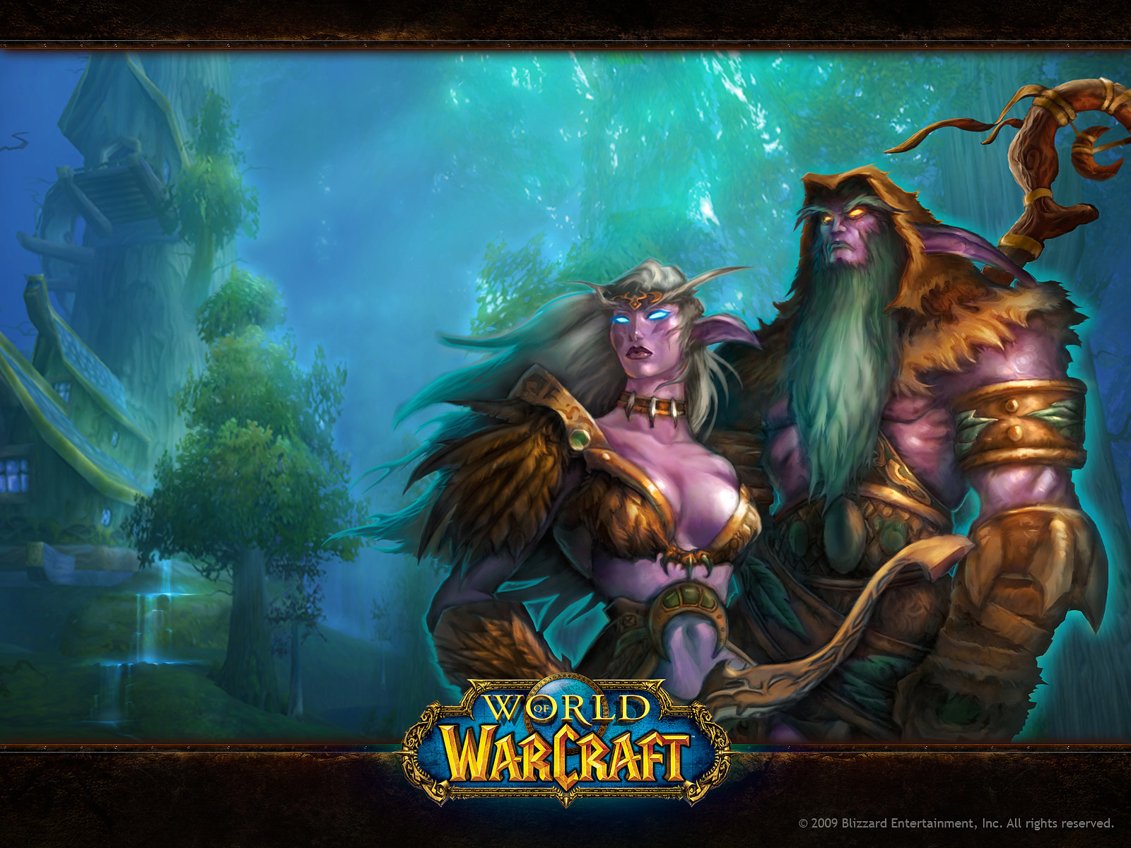 World Of Warcraft Featured Characters 485.82 Kb
