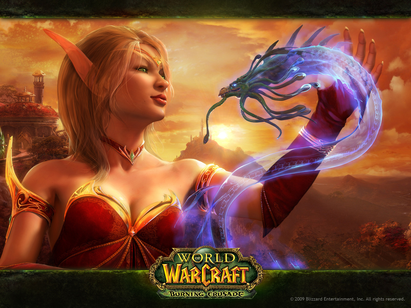 World Of Warcraft Burning Crusade Snake 485.82 Kb