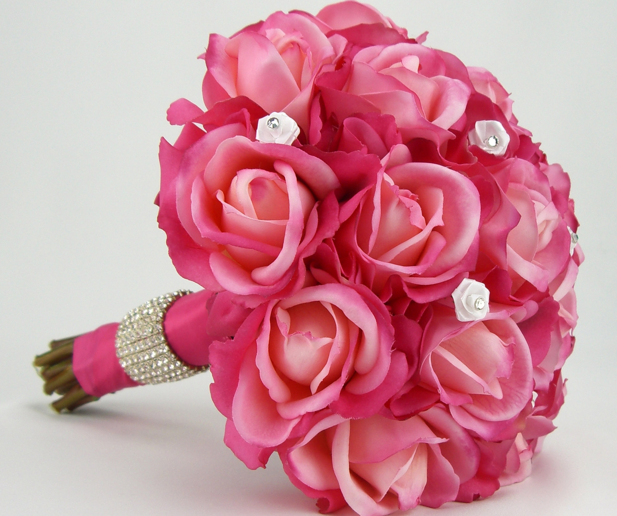 Images Of Flowers, Pink Roses Bouquet 2857.23 Kb