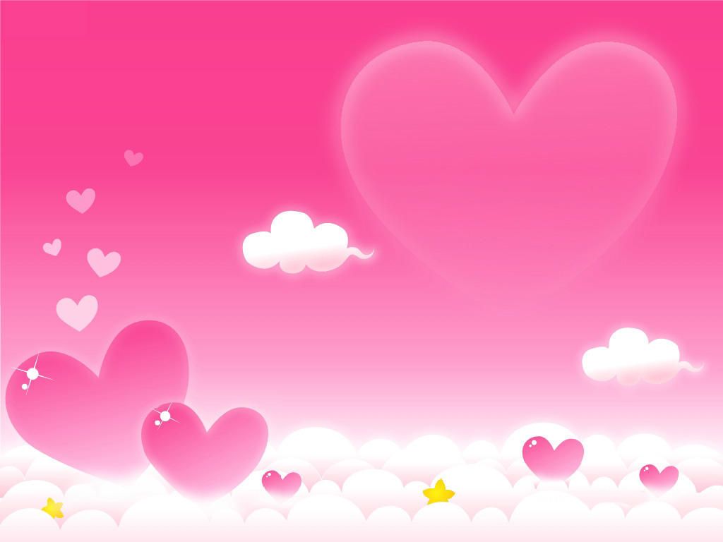 Background Images with Lovely Hearts