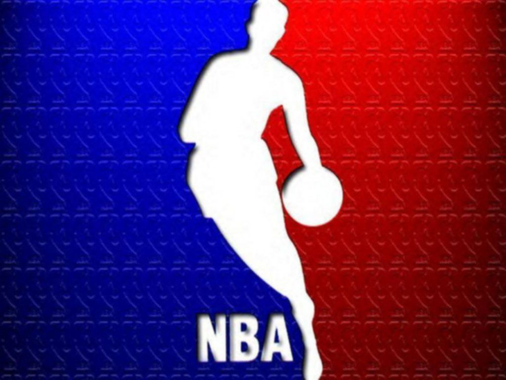 Nba Blue and Red Logo