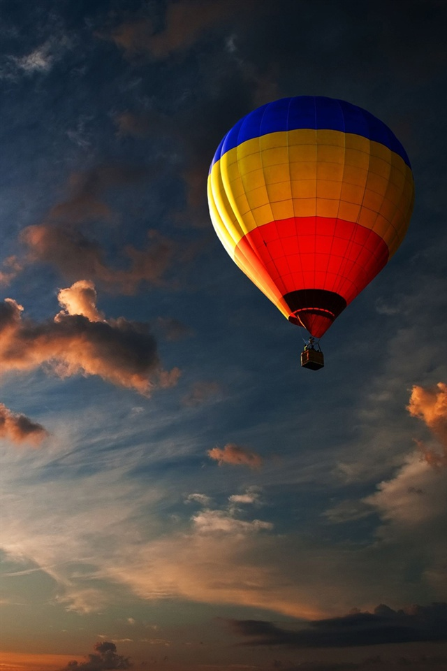 Wallpaper IPhone, Air Balloon in the Sky