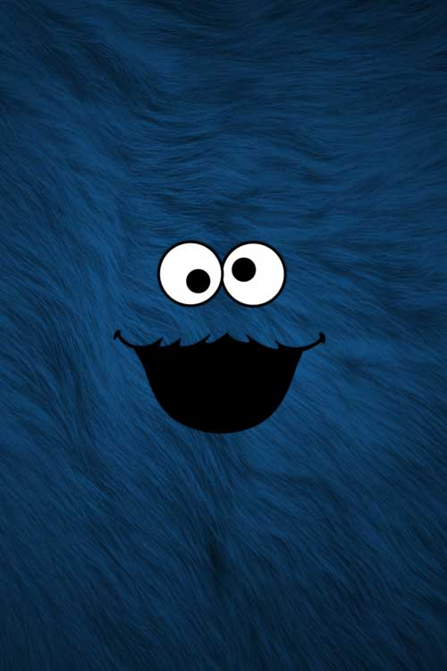 Cookie Monster Wallpaper IPhone 119.55 Kb