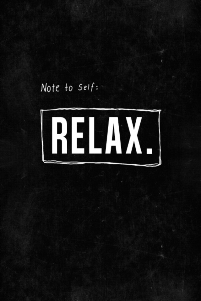 Relax Note Wallpaper IPhone 183.72 Kb