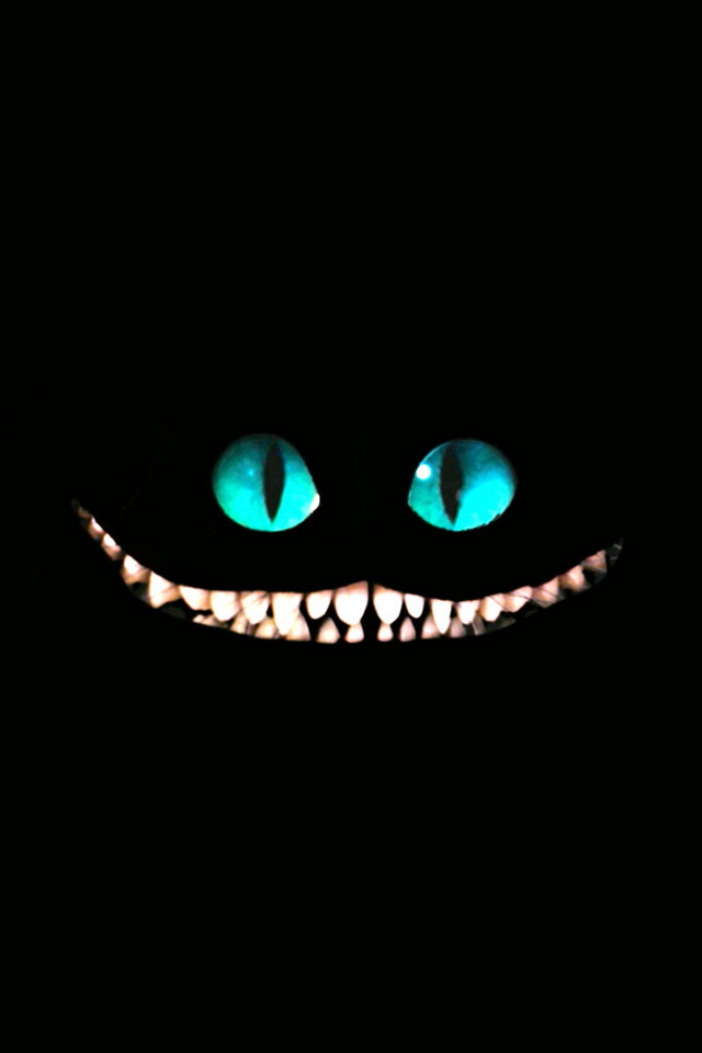 Wallpaper IPhone Cheshire Cat 183.72 Kb