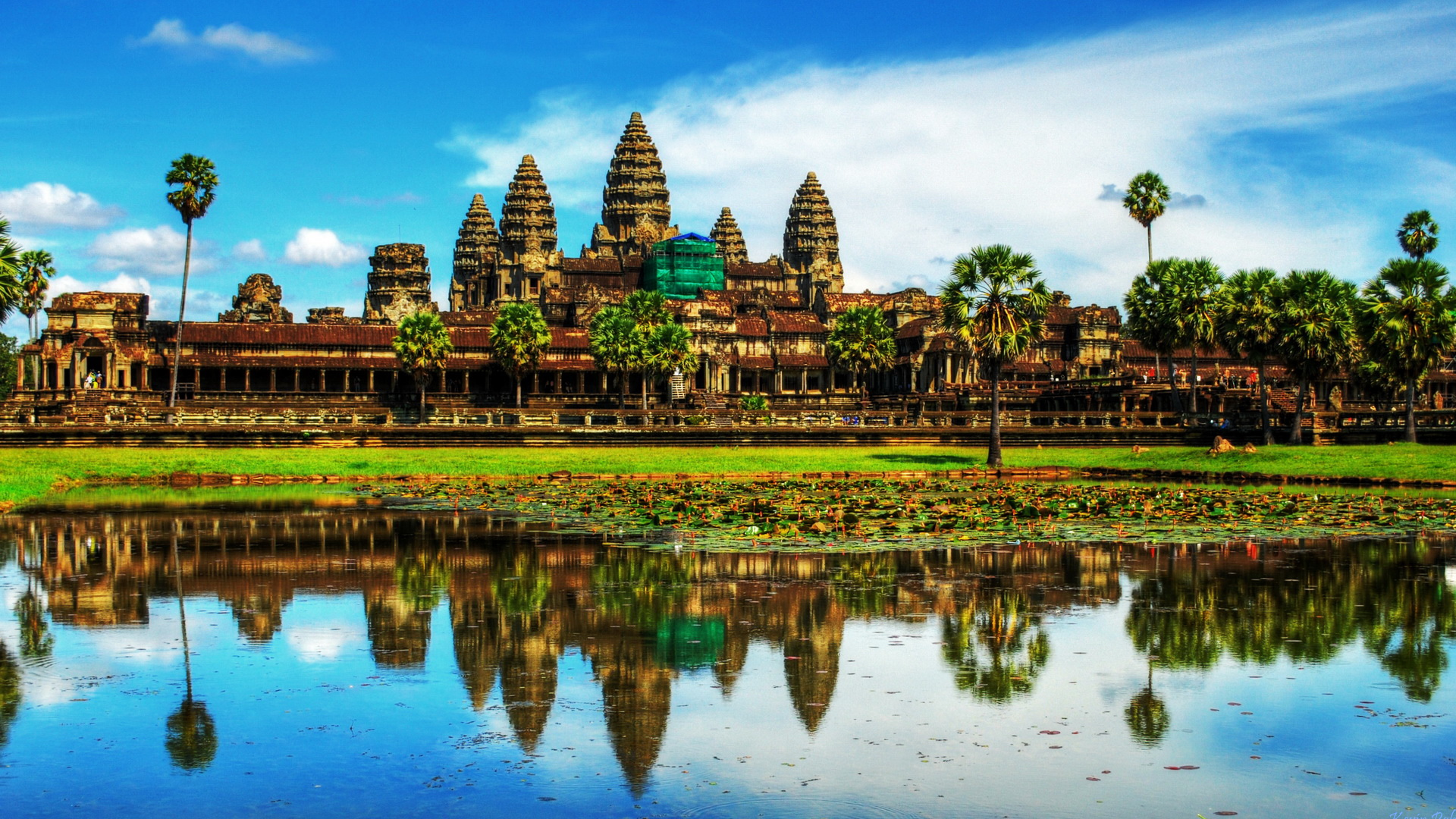 Angkor-Wat Temple in Thailand