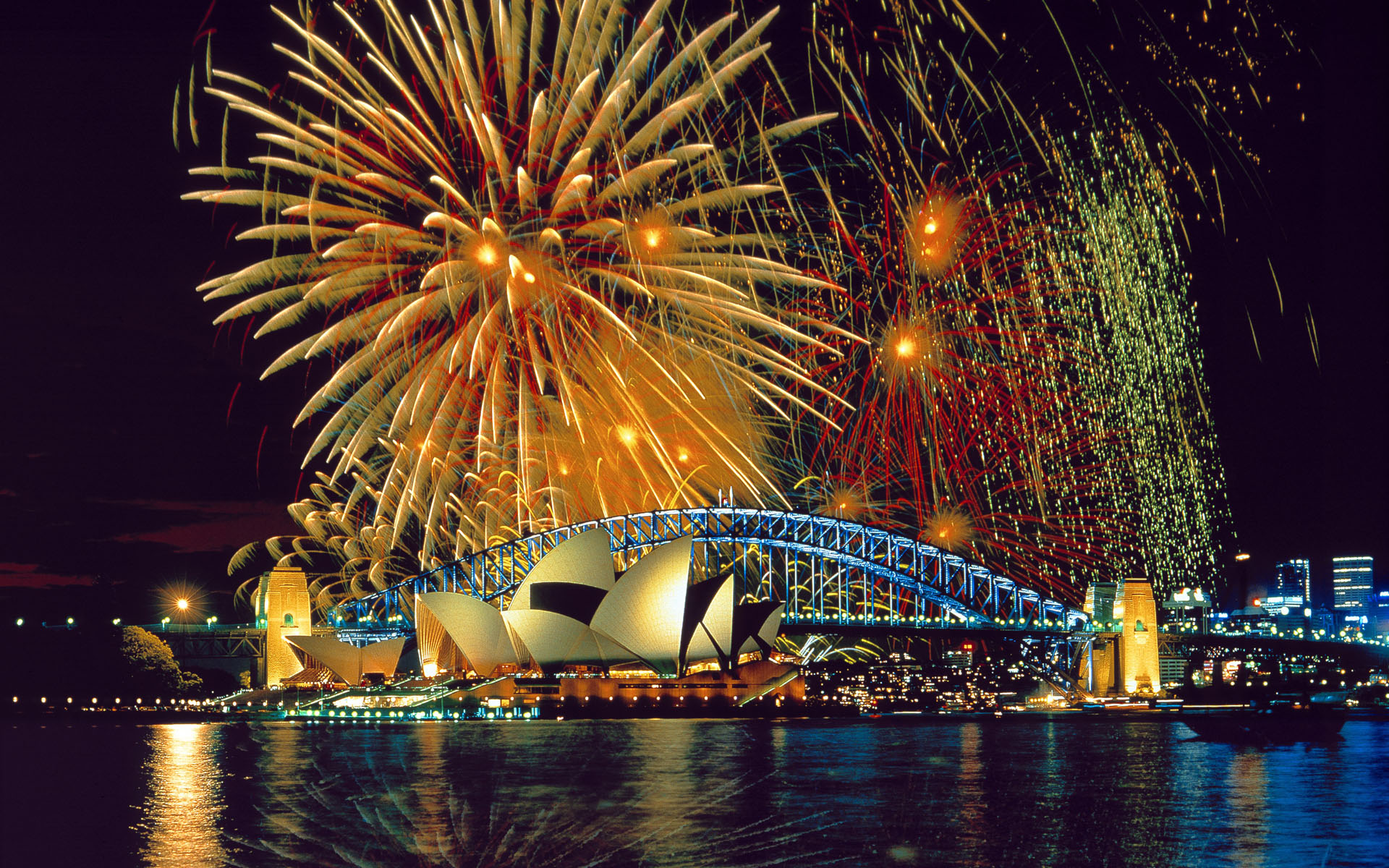 Wallpapers Download Sydney Fireworks 227.97 Kb